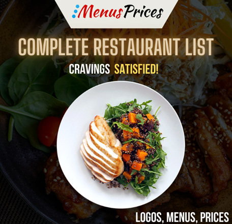 Complete list of all Restaurants