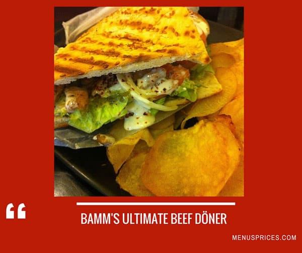 Bamm Restaurant Random Food