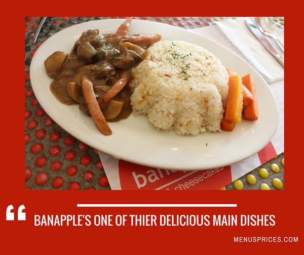 Banapple menus prices complete list of all banapple for List of entree dishes