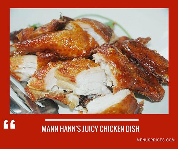Mann Hann Restaurant Random Food