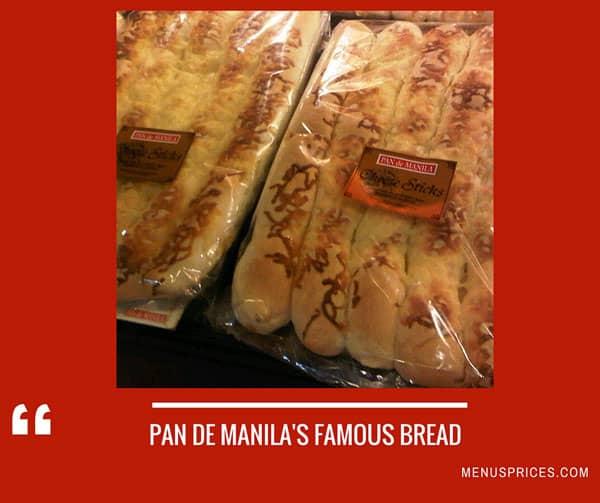 Pan De Manila Restaurant Random Food