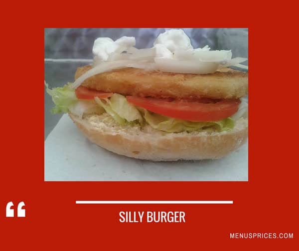 Silly Burger Restaurant Random Food