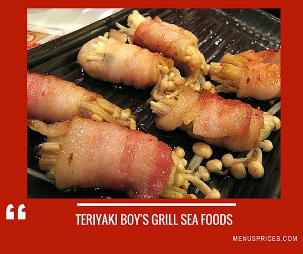 Teriyaki Boy Restaurant Random Food
