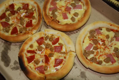 Pizza Pedrico's Menu List