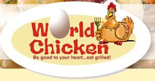 World Chicken Menu List