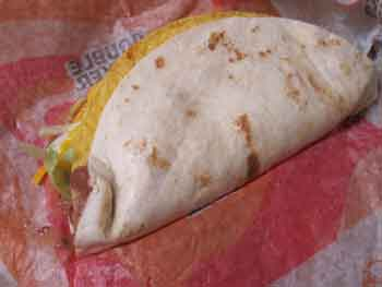 Taco Bell Menu Prices - Double Decker Taco Review
