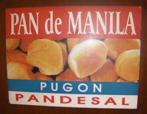 Pan de Manila Menu List