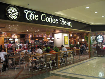 Coffee Bean and Tea Leaf Menu