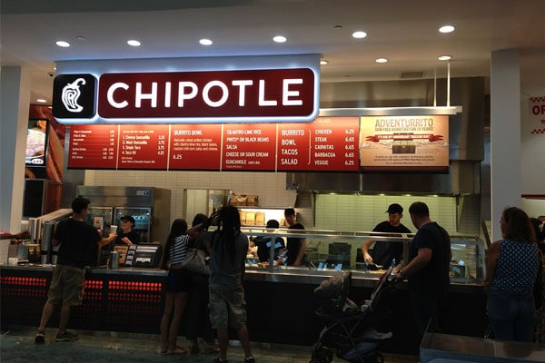 Chipotle Mexican Grill Menus