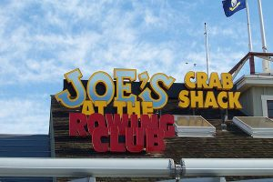 Joe's Crab Shack restaurant menus