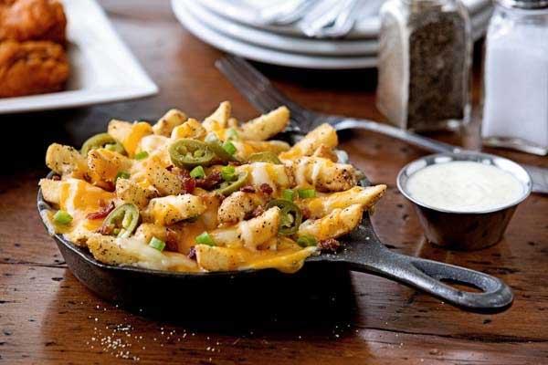 Chilis Texas Cheese Fries