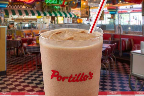 portillos Chocolate Shake