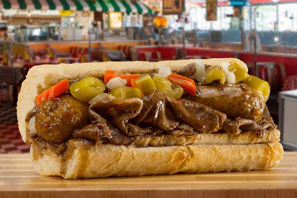 portillos Combo Beef & Char-Grilled Italian Sausage