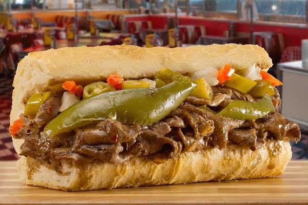 portillos Italian Beef Sandwich