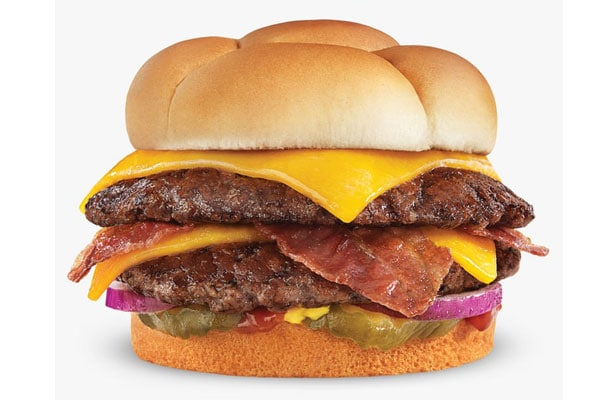Cheddar Butterburger with Bacon