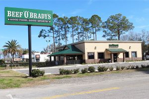 Beef O' Brady's Menu