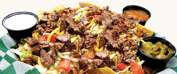 Whole Lotta Steak Nachos