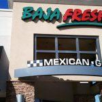 Baja Fresh Menu Restaurant