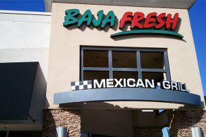 Baja Fresh Menu Restaurant