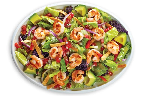 Baja Fresh Restaurant Salads