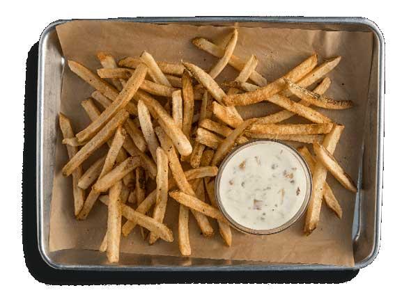 Fries mooyah menu