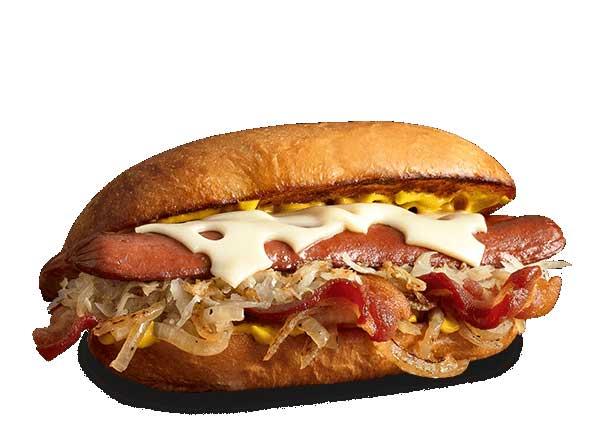 The Oktoberfest Dog mooyah menu