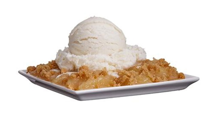 APPLE CRISP À LA MODE