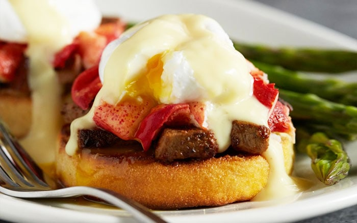 Filet Mignon & Lobster Eggs Benedict