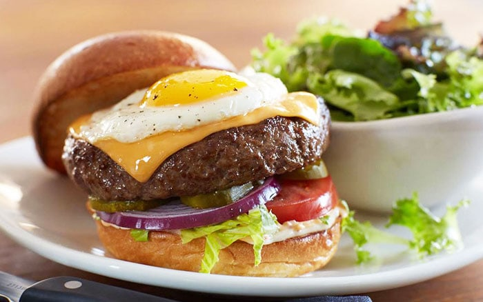Half-Pound Wagyu Beef and Egg Burger