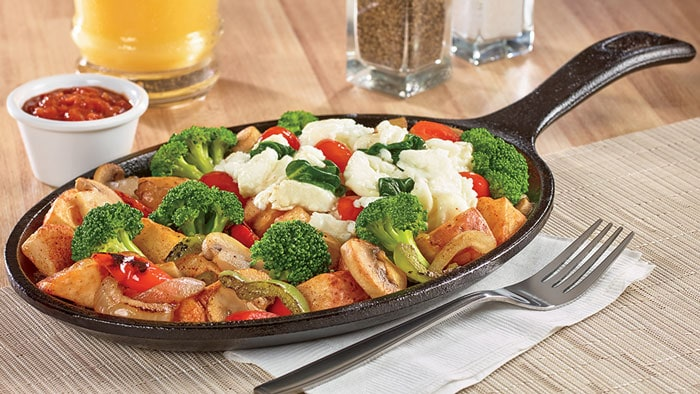 Fit Fare Veggie Sizzlin' Skillet