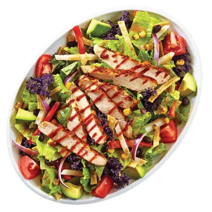 Baja BBQ Chicken Salad