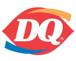 Dairy Queen restaurant official logo of the company