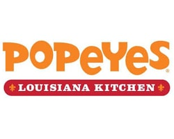 Popeyes Louisiana Kitchen-restaurant-official logo of the company