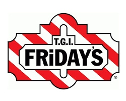 T.G.I. Fridays restaurant official logo of the company