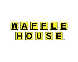 Waffle House restaurant official logo of the company