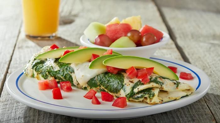 Cage-Free Egg White Veggie Omelette