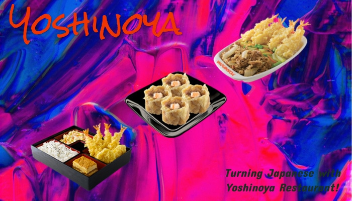 Turning Japanese with Yoshinoya Restaurant!