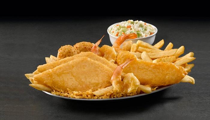 Fish, Chicken, & Shrimp